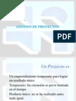 8.- Gestión de proyectos