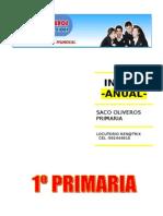 SACO OLIVEROS 1º PRIM INGLES