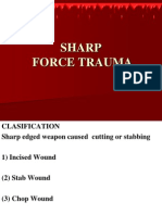 Sharp Force Trauma