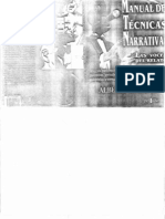 Alberto Paredes - Manual de técnicas narrativas
