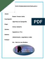 Algoritmos de Criptografia ENTREGA