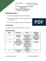 S1 N1 Fiche Technique Information