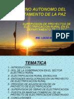 Elctricidad Area Rural Supervision