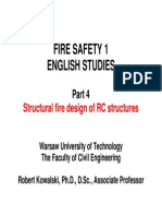 4 - Structural Fire Design of RC Structures