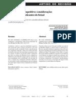 Stress e nível competitivo considerações sobre jovens praticantes de futsal