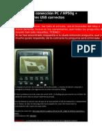 Paquete de conección PC