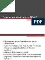 Examenes auxiliares – DBM2