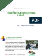 RESIDUOS SOLIDOS MUNICIPALES Y LA SALUD.ppt