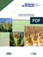 Sistema de produção para a cultura do milho em RO