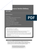 Human Resource Service Delivery