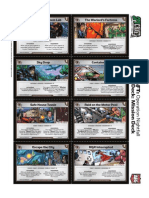 Spycraft CCG - Sample Missions Deck