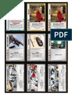 Spycraft CCG - Nine Tigers Demo Deck