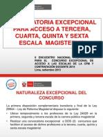 167837683 Concurso Excepcional de Acceso a Las Escalas de La Cpm y Contratacion Docente