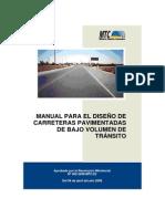 Manual de Diseño Pavimentada