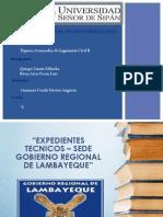 Gobierno Regional de Lambayeque - Expedientes Tecnicos