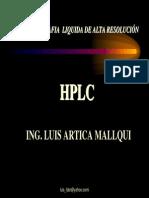 Cromatografia Hplc en Alimentos