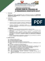 DIRECTIVA 04-IEIAR-SUPERVISIÓN PEDAGÓGICA 2013