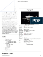 Voyager 1 – Wikipédia, a enciclopédia livre