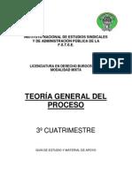 3° TEORIA GENERAL DEL PROCESO