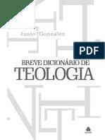 Breve Dicionario Teologia Cap1