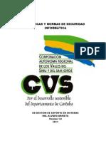 GUIA Politicas de Seguridad Informatica CVS 2011