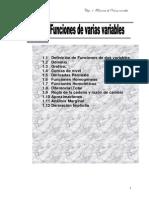 Funciones de Varias Variable