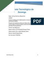 Efecto Del Procesamiento Minimo Sobre La Vida de Anaquel y Biofuncionalidad de Granos de Granada (Punica Granatum).