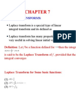 Ch7 Laplace Transform