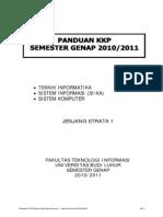 Panduan KKP FTI