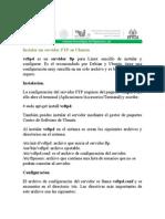 Instalar un servidor FTP enUbuntu