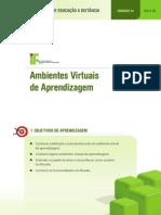 AULA I Unidade I - Ambientes Virtuais de Aprendizagem