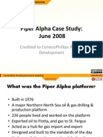 Piper Alpha Disaster Slides