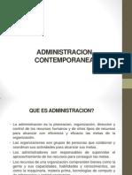 ADMINISTRACION CONTEMPORANEA 9-9-13