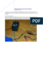 Electrolysis Cleaning Method or How to Make Your Yugo
