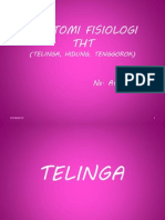 Anatomi Fisiologi Tht. Ppt