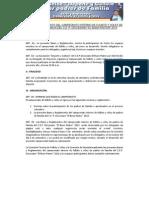 Bases y Reglamento Generales 2012