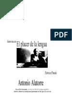 El placer de la lengua -Entrevista a Antonio Alatorre.doc