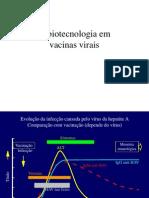 Aula 7 - Vacinas - Biotecnologia