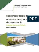 Trabajo Final - Areas Verdes y de Uso Comun