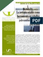 La Isotopia Como Herramienta en Estudios Paleoambientales y de Paleoclima