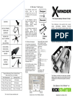 X-Winder TriFold Brochure