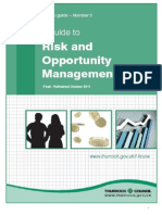 Opportunity and Risk Mgmt