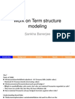 Interest Rate Modeling Getco