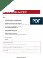 China Media Monitor (Issue 5, June 2009)
