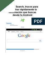 Busquedas Android