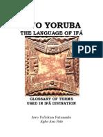Bible of Yoruba People | Lie | Trees