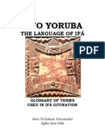 Odu Ifa | Ethnic Religion | Divination