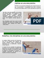 Body Flow Tres Disciplinas