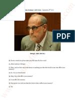 Transcripts Dr Metzger, Allan (MJ Dr.) Katherine Jackson v AEG Live – September 6th 2013