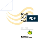 TOAD DBA Module Guide